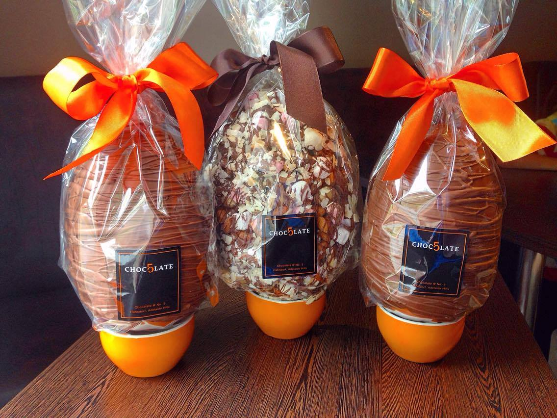 Easter egg hunt chocolate shops in adelaide to fill your basket chocolate at no 5 easter eggs negle Choice Image